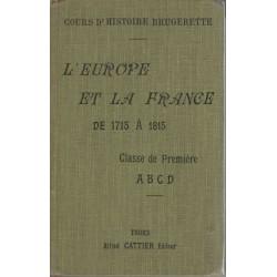 L'Europe et la France de...