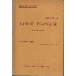 Cours de langue française :...