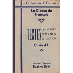 La Classe de français - 4°....