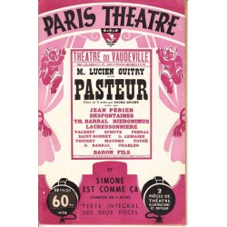 Pasteur - Sacha Guitry