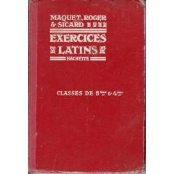 Exercices latins 5° et 4° - Ch.Maquet/M. Roger/C. Sicard