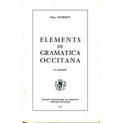 Elements de gramatica occitana - Jean Journot