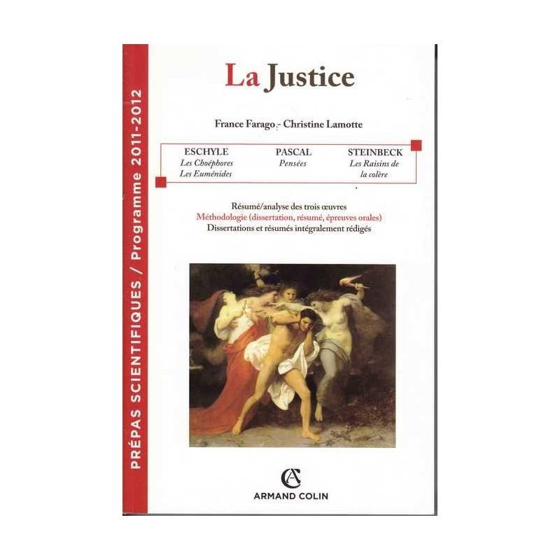 La Justice - France Farrago / Christine Lamotte