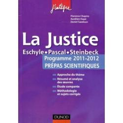 La Justice - Programmes 2011-12 prépas scientifiques