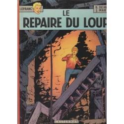 Le repaire du loup / Lefranc n°3 - J. Martin/B. de Moor