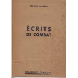 Ecrits de combat - Georges...
