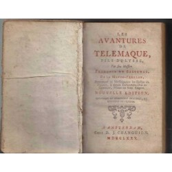 Les avantures de Télémaque, fils d'Ulysse - Fénelon