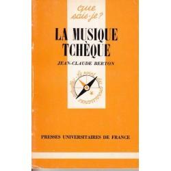 La musique tchèque - Jesn-Claude Berton