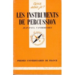 Les instruments de percussion - Jean-Paul Vanderichet