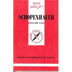 Schopenhauer - Edouard Sans