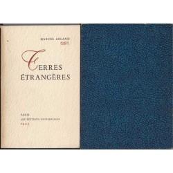 Terres étrangères - Marcel Arland