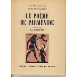 Le poème de Parménide -...