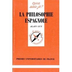 La philosophie espagnole -...