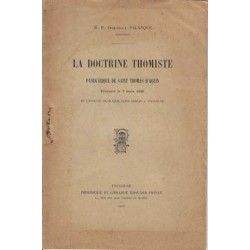 La doctrine thomiste - R....