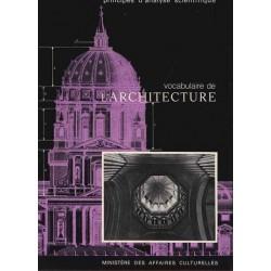 Vocabulaire de l'architecture - J-M. Pérouse de Monclos