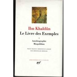 Le Livre des Exemples Tome 1 - Ibn Khaldûn