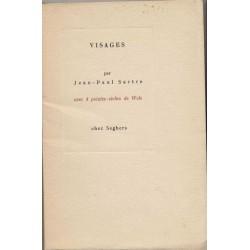Visages - Jean-Paul Sartre / Wols