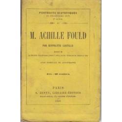M. Achille Fould -...