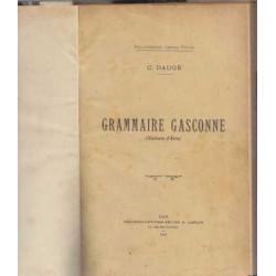 Grammaire gasconne - C. Daugé